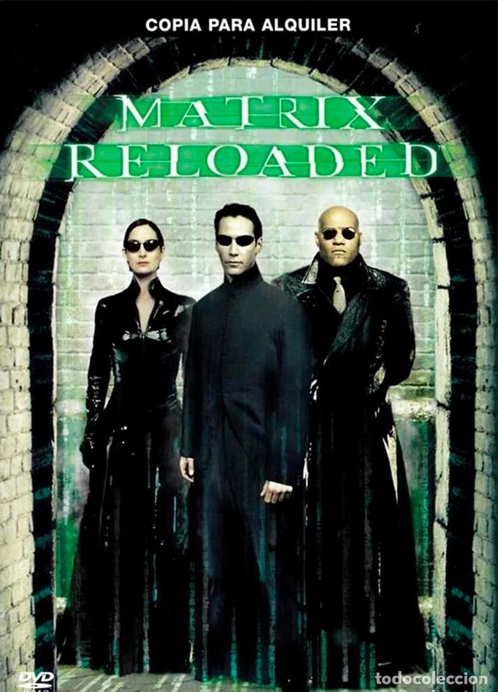 MATRIX RELOADED (Cine - Películas - DVD)