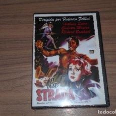 Cine: LA STRADA DVD DE FEDERICO FELLINI NUEVA PRECINTADA. Lote 183995293