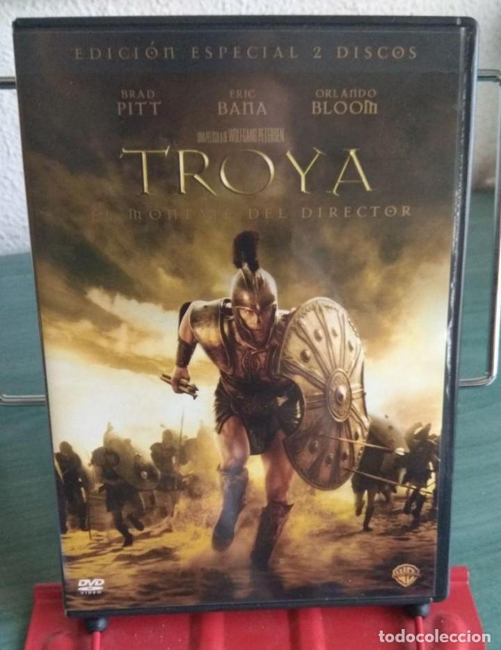 TROYA EN DVD. EDICION ESPECIAL 2 DISCOS. MONTAJE DEL DIRECTOR // PROMOCIÓN ENVÍOS. LEER DESCRIPCIÓN (Cine - Películas - DVD)