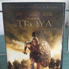 Cine: TROYA EN DVD. EDICION ESPECIAL 2 DISCOS. MONTAJE DEL DIRECTOR // PROMOCIÓN ENVÍOS. LEER DESCRIPCIÓN. Lote 167113572