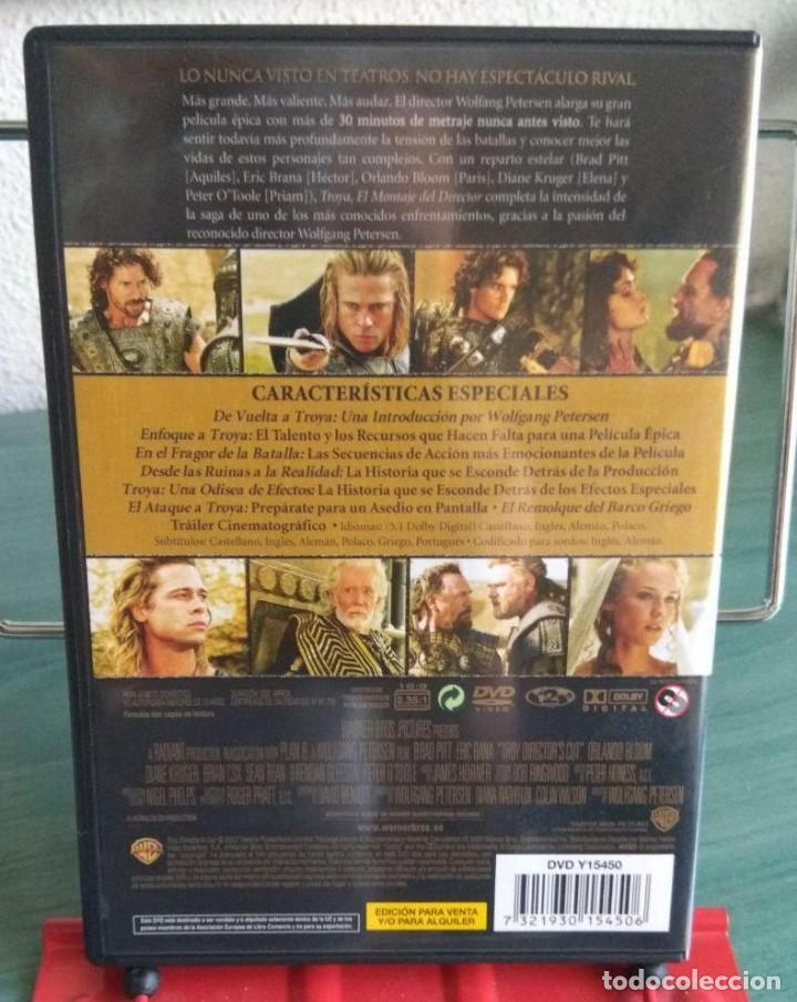 Cine: Troya en DVD. Edicion especial 2 discos. Montaje del director // Promoción envíos. Leer descripción - Foto 2 - 167113572