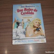 Cine: UNA MUJER DE CUIDADO DVD JAYNE MANSFIELD TONY RANDALL NUEVA PRECINTADA. Lote 167113908