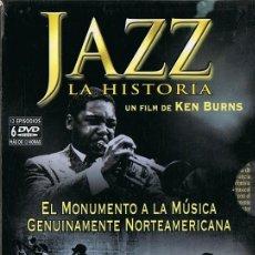 Cine: JAZZ LA HISTORIA DE KEN BURNS ( 6 DVD). Lote 167152872
