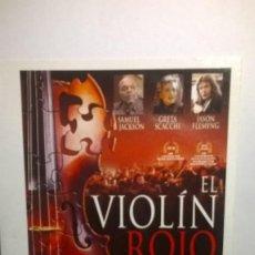 Cine: EL VIOLIN ROJO FRANÇOIS GIRARD DVD. Lote 167167304