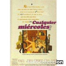 Cine: CUALQUIER MIÉRCOLES DIRECTOR: ROBERT ELLIS MILLER ACTORES: JANE FONDA, JASON ROBARDS, DEAN JONES, . Lote 167239824