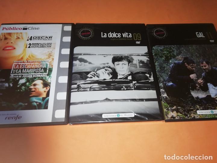 Cine: CINE DVD. LOTE DE 37 GRANDES PELICULAS. LA MAYORIA PRECINTADAS. - Foto 4 - 167308652