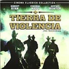 Cine: TIERRA DE VIOLENCIA - DVD NUEVO Y PRECINTADO. Lote 178570527