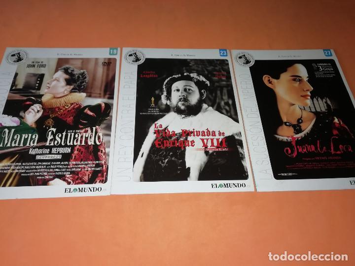 Cine: CINE DVD. LOTE DE 24 PELICULAS. GRANDES ACONTECIMIENTOS DEL SIGLO XX. EL MUNDO. Y 4 MAS. - Foto 3 - 167318308