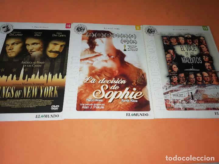 Cine: CINE DVD. LOTE DE 24 PELICULAS. GRANDES ACONTECIMIENTOS DEL SIGLO XX. EL MUNDO. Y 4 MAS. - Foto 4 - 167318308