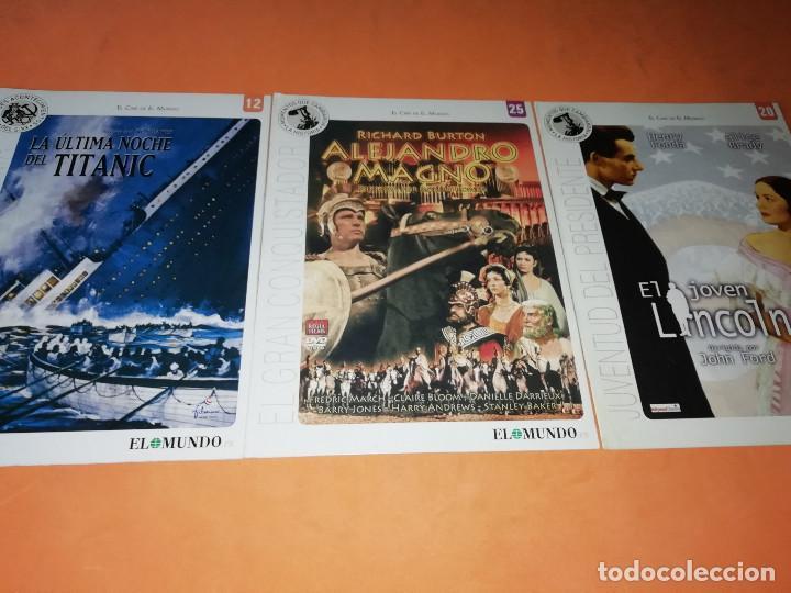 Cine: CINE DVD. LOTE DE 24 PELICULAS. GRANDES ACONTECIMIENTOS DEL SIGLO XX. EL MUNDO. Y 4 MAS. - Foto 5 - 167318308