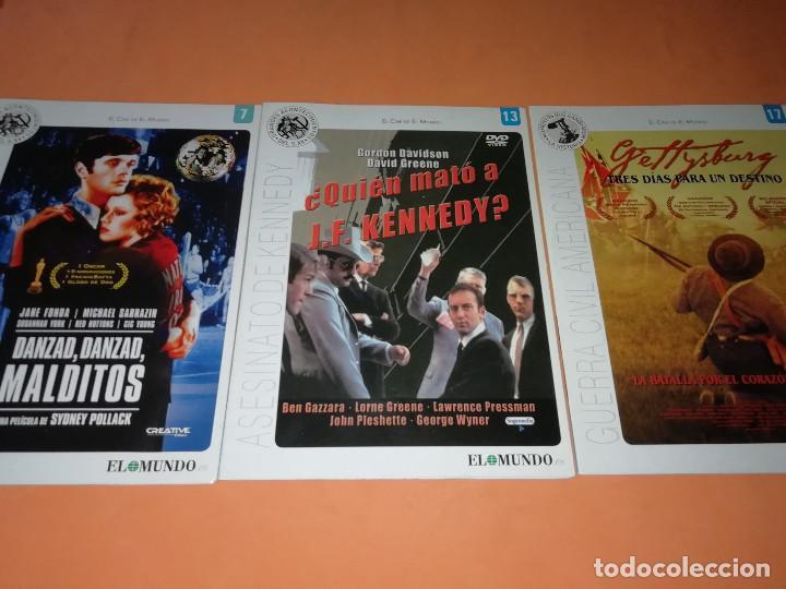 Cine: CINE DVD. LOTE DE 24 PELICULAS. GRANDES ACONTECIMIENTOS DEL SIGLO XX. EL MUNDO. Y 4 MAS. - Foto 6 - 167318308