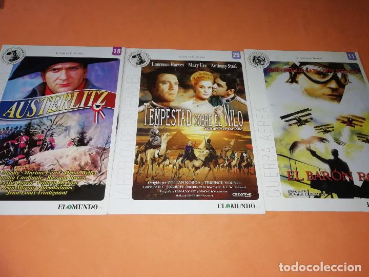 Cine: CINE DVD. LOTE DE 24 PELICULAS. GRANDES ACONTECIMIENTOS DEL SIGLO XX. EL MUNDO. Y 4 MAS. - Foto 7 - 167318308