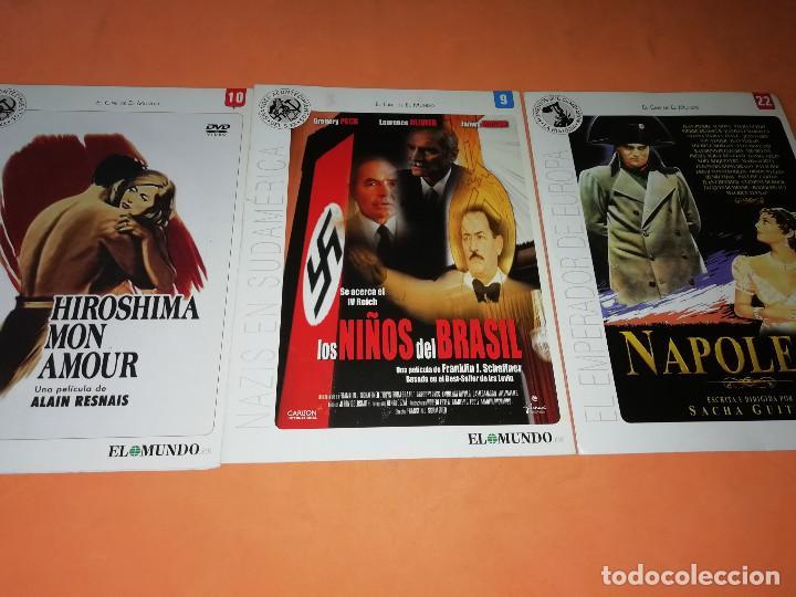Cine: CINE DVD. LOTE DE 24 PELICULAS. GRANDES ACONTECIMIENTOS DEL SIGLO XX. EL MUNDO. Y 4 MAS. - Foto 8 - 167318308