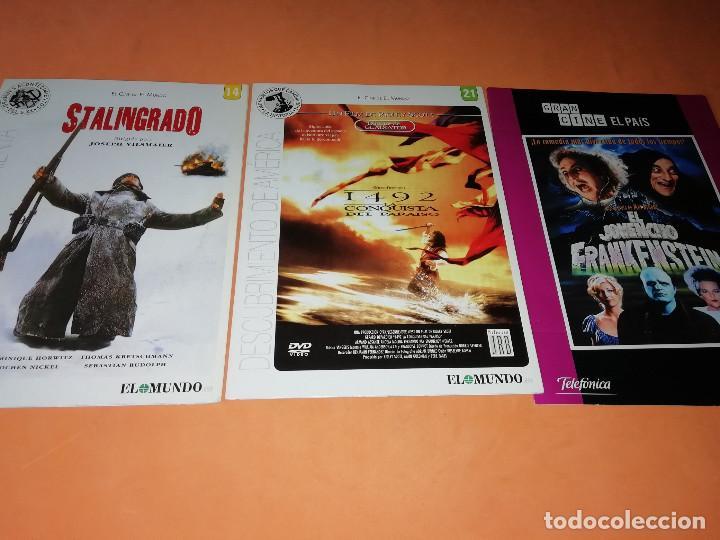 Cine: CINE DVD. LOTE DE 24 PELICULAS. GRANDES ACONTECIMIENTOS DEL SIGLO XX. EL MUNDO. Y 4 MAS. - Foto 9 - 167318308