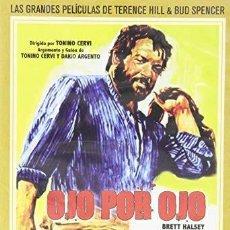 Cine: OJO POR OJO (BUD SPENCER) - DVD NUEVO Y PRECINTADO. Lote 211392200