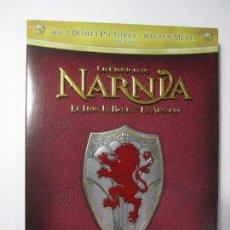 Cine: DVD LAS CRONICAS DE NARNIA EL LEON,LA BRUJA Y EL ARMARIO EDICION ESPECIAL 2 DISCOS WALT DISNEY. Lote 167453516