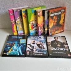 Cine: LOTE 10 DVDS PELICULAS Y O SERIES VARIAS. Lote 167468648