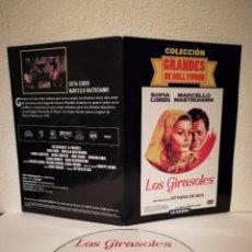 Cine: DVD ORIGINAL - LOS GIRASOLES - DVD - SOFIA LOREN - GRANDES DE HOLLYWOOD. Lote 167484244
