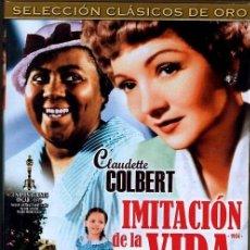 Cine: IMITACION DE LA VIDA DVD (CLASICOS DE ORO) ... UNA HISTORIA QUE LLEGA DIRECTAMENTE AL CORAZON.. Lote 167499068