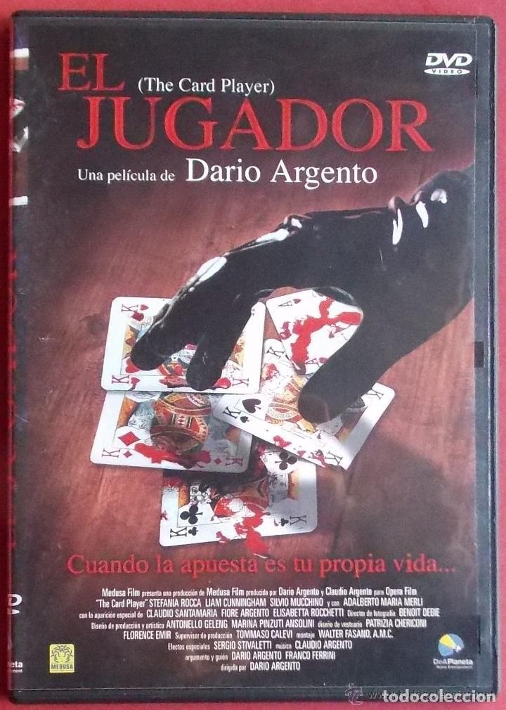 EL JUGADOR - DARIO ARGENTO - DVD NUEVO - PRECINTADO!! - (Cine - Películas - DVD)