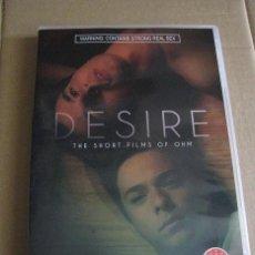 Cine: DESIRE.THE SHORT FILMS OF OHM (IMPORTACION) ¡¡LEER DESCRIPCION!!. Lote 167601352