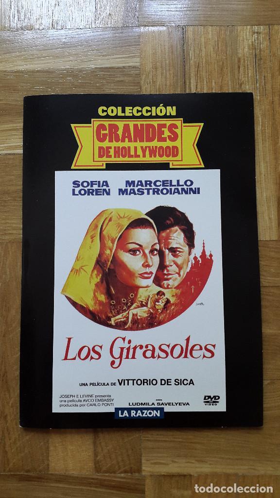 PELICULA DVD - LOS GIRASOLES - SOFÍA LOREN - MARCELLO MASTROIANNI - SEGUNDA GUERRA MUNDIAL (Cine - Películas - DVD)