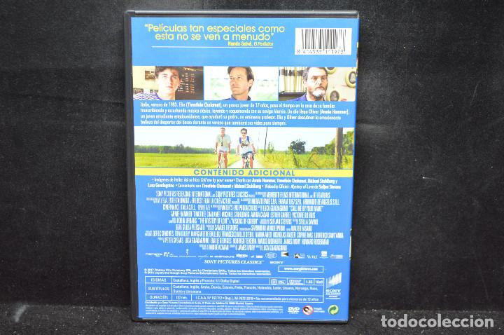 Cine: CALL ME BY YOUR NAME - DVD - Foto 2 - 167680012
