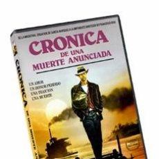 Cinema: CRONICA DE UNA MUERTE ANUNCIADA - ANTHONY DELON, RUPERT EVERETT, ORNELLA MUTI DVD NUEVO. Lote 261649480
