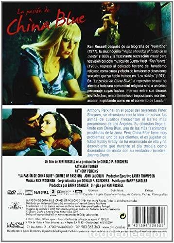 Cine: LA PASION DE CHINA BLUE - DVD NUEVO PRECINTADO - Foto 2 - 167804248