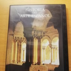 Cine: HISTORIA DEL ARTE ESPAÑOL. LA ÉPOCA DE LOS MONASTERIOS. LA PLENITUD DEL ROMÁNICO (DVD). Lote 167886244