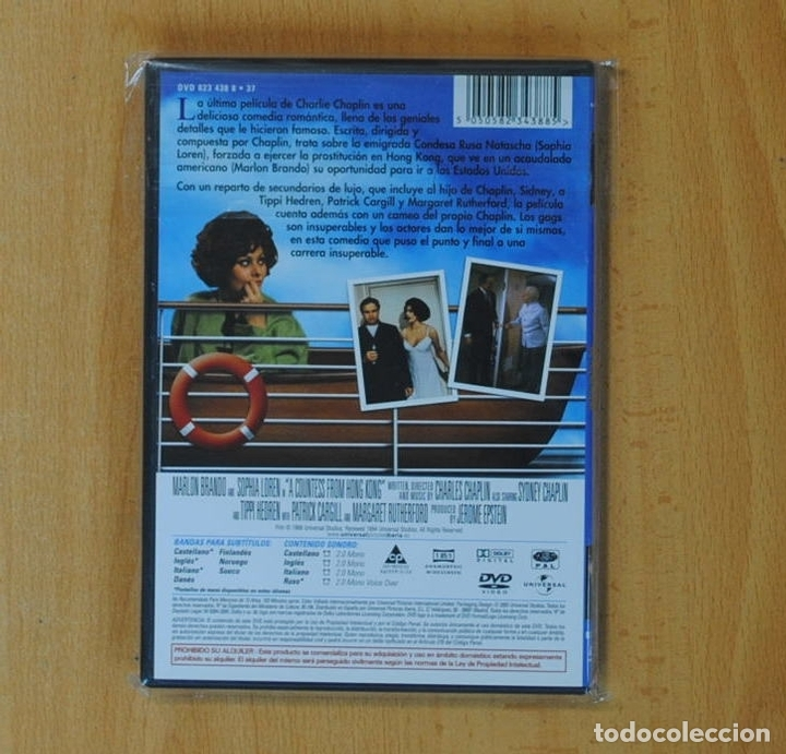 Cine: LA CONDESA DE HONG KONG - DVD - Foto 2 - 167920681