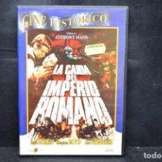 Cine: LA CAIDA DEL IMPERIO ROMANO - DVD. Lote 167922064