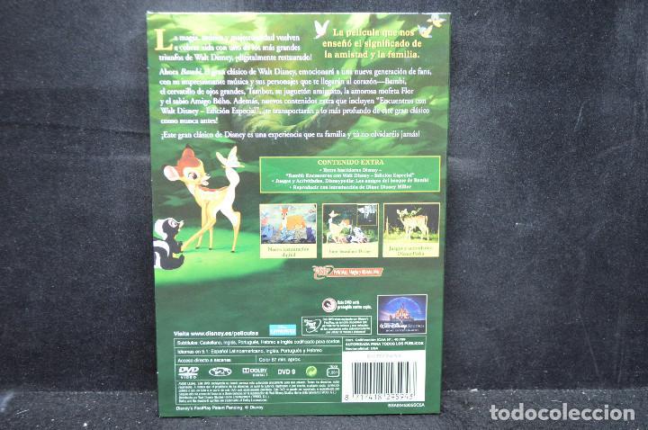 Cine: BAMBI - DVD - EDICION DIAMANTE - Foto 2 - 167922888