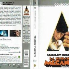 Cine: LA NARANJA MECÁNICA. - DVD. STANLEY KUBRICK. REINO UNIDO. 1971. DRAMA.. Lote 167927861
