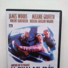Cine: AL FINAL DEL EDEN .DVD.J.WOODS/MELANIE.GRIFFITH.1998.. Lote 167947008