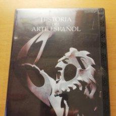 Cine: HISTORIA DEL ARTE ESPAÑOL. EL SIGLO DE LOS CREADORES (DVD PRECINTADO). Lote 167953392
