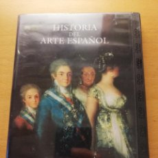 Cine: HISTORIA DEL ARTE ESPAÑOL. LA ÉPOCA DE LAS REVOLUCIONES. DE GOYA A LA MODERNIDAD (DVD PRECINTADO). Lote 167953948