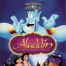 Cine: ALADDIN. EDICIÓN ESPECIAL 2 DISCOS. DVD-6016. Lote 167981592