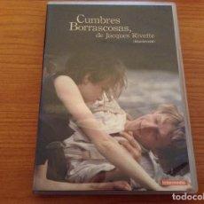 Cine: CUMBRES BORRASCOSAS - JACQUES RIVETTE - INTERMEDIO. Lote 168042860