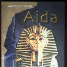 Cine: TODODVD: GIUSEPPE VERDI: AIDA - WOLFGANG WERNER, 1997. Lote 168049976