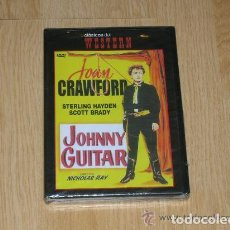 Cine: JOHNNY GUITAR DVD JOAN CRAWFORD NUEVA PRECINTADA. Lote 194348997