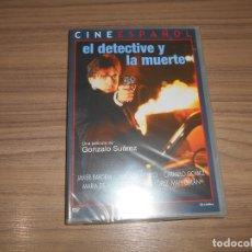 Cine: EL DETECTIVE Y LA MUERTE DVD JAVIER BARDEM NUEVA PRECINTADA. Lote 168060620