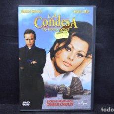Cine: LA CONDESA DE HONG KONG - DVD. Lote 168164804