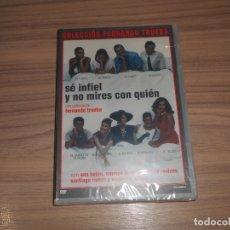 Cine: SE INFIEL Y NO MIRES CON QUIEN DVD DE FERNANDO TRUEBA ANA BELEN CARMEN MAURA WARNER PRECINTADA. Lote 236118665