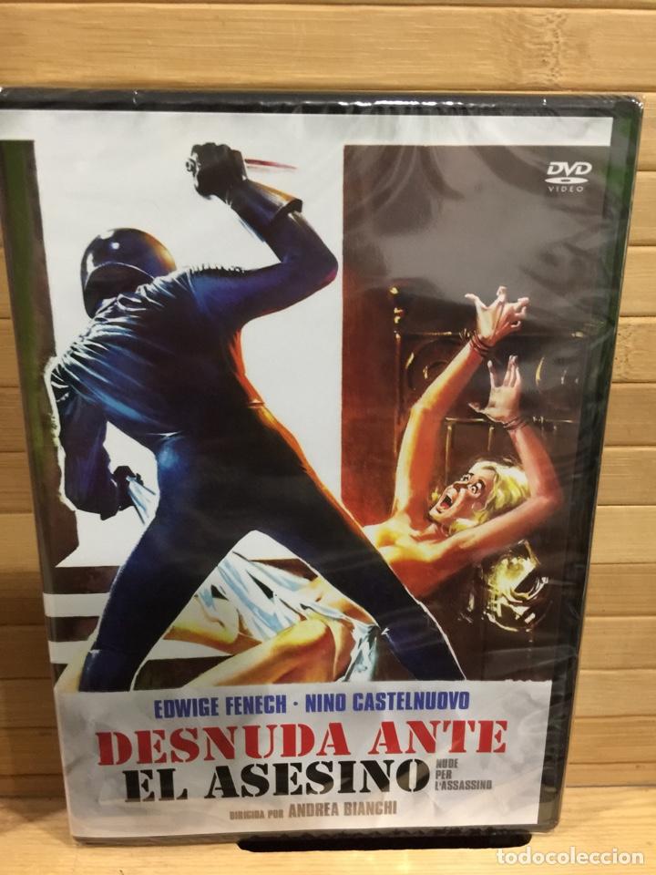 Desnuda Ante El Asesino Dvd Precintado