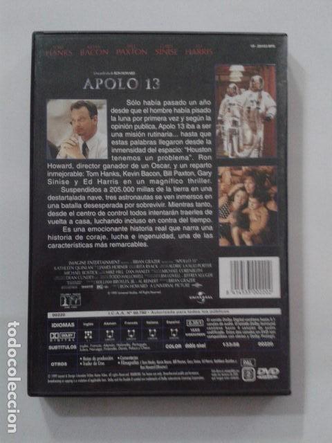 Cine: APOLO 13 DVD WIDESCREEN - Foto 2 - 168218056