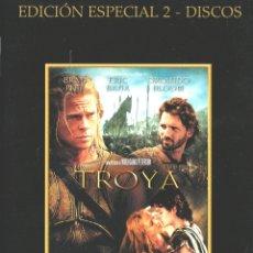 Cine: TROYA. EDICIÓN ESPECIAL 2 DISCOS. DVD-6035. Lote 168220908