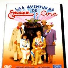 Cine: LAS AVENTURAS DE ENRIQUE Y ANA - ENRIQUE DEL POZO ANA ANGUITA LUIS ESCOBAR DVD DESCATALOGADA. Lote 168275588