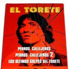 Cine: COLECCION PERROS CALLEJEROS - J. A. DE LA LOMA ANGEL FERNANDEZ FRANCO 'EL TORETE' DVD DESCATALOGADA. Lote 168277572