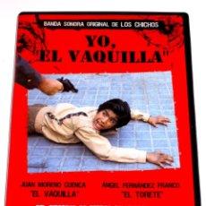 Cine: YO EL VAQUILLA - JOSE A. DE LA LOMA JUAN JOSÉ MORENO CUENCA FRANK BRAÑA DVD ORIGINAL DESCATALOGADO. Lote 168277808
